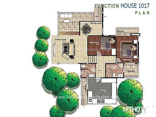 แบบบ้านชั้นครึ่ง 1FTH017