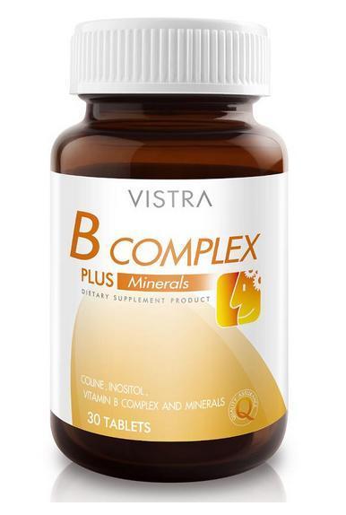 VISTRA B-Complex plus mineral