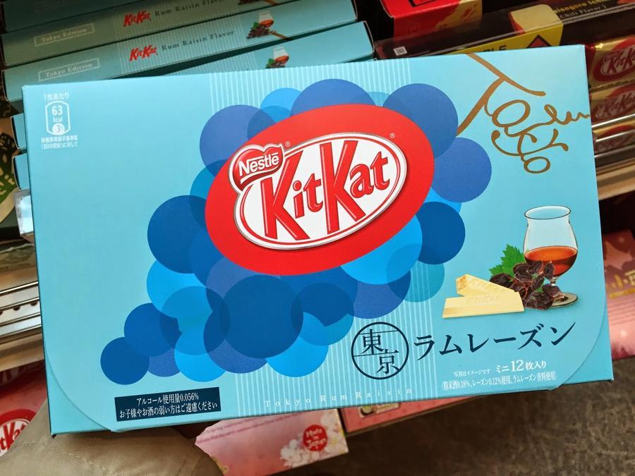 Kitkat Tokyo Rum & Raisin