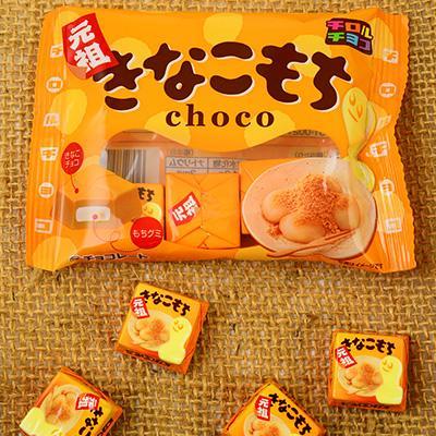 Tirol Choco Kinako Mochi ช็อกโกแลตโมจิ