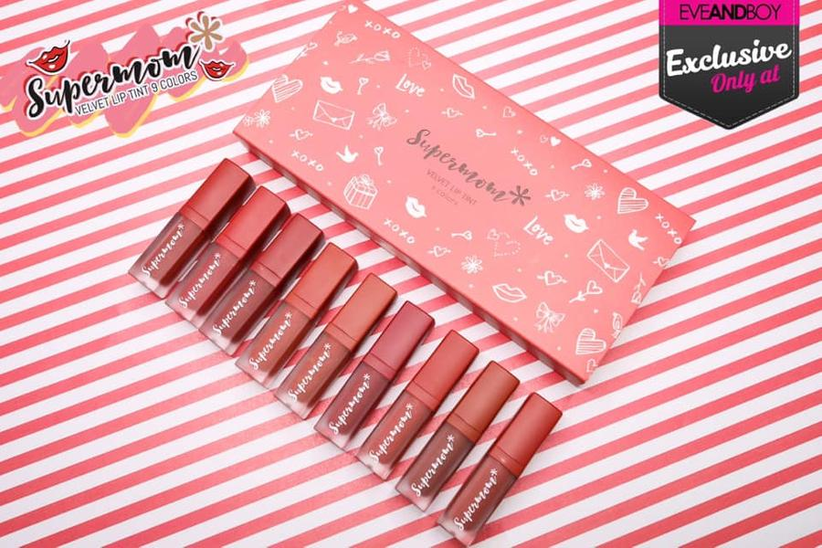 Supermom Velvet Lip Tint 9 Colors 1