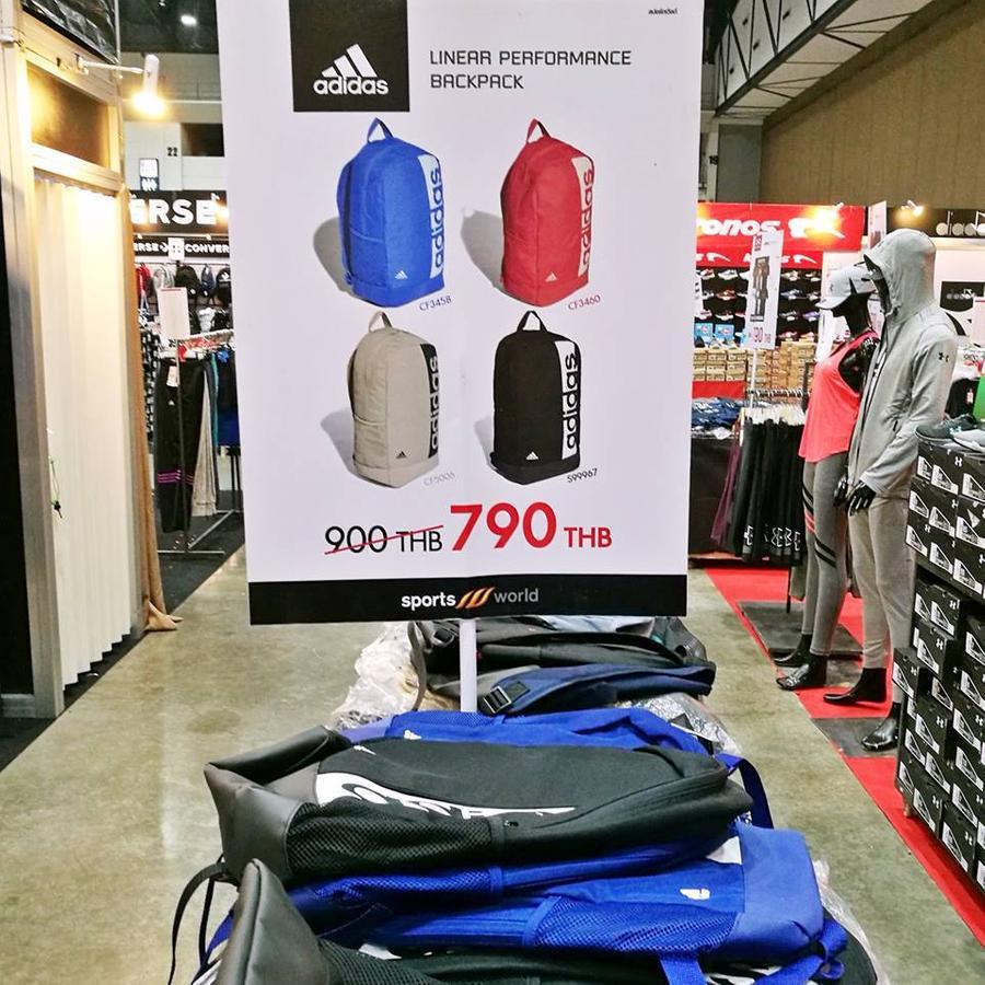 กระเป๋าเป้ adidas ลดเหลือ 790.-