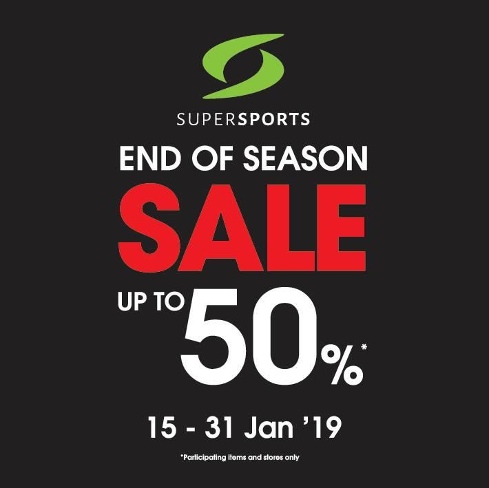Supersports End of Season Sale