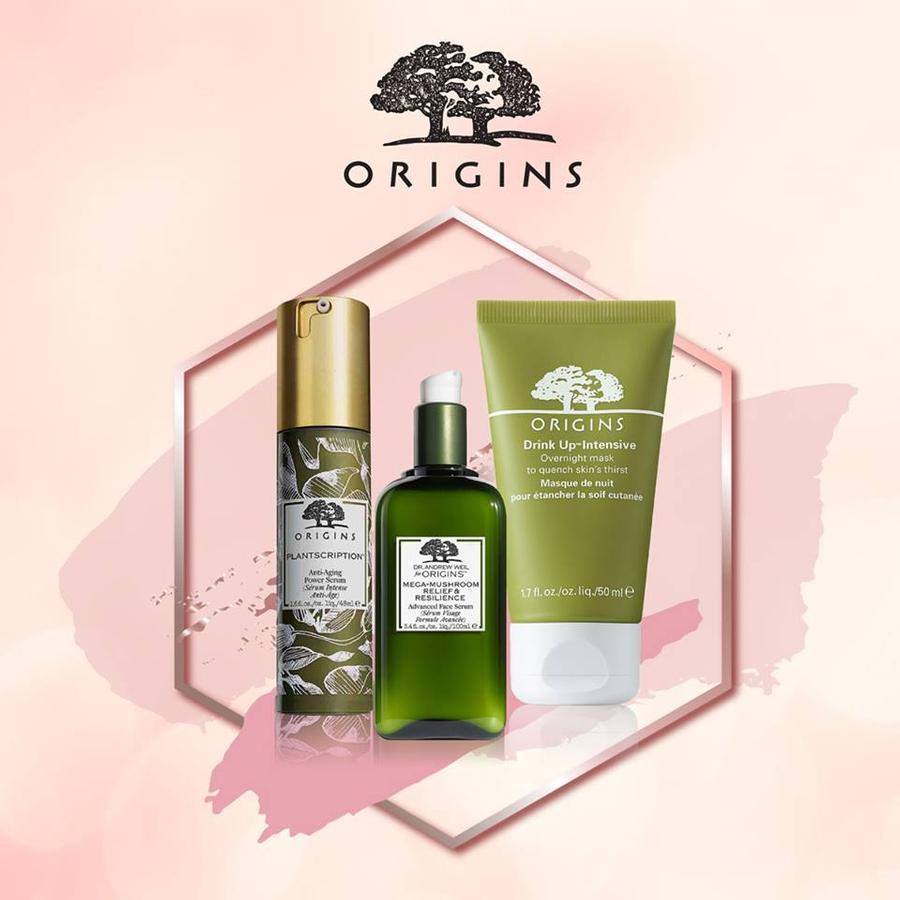 Origins ลด 25% ทั้งแบรนด์ ช้อปสินค้า Origins